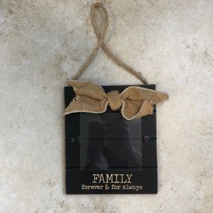 3/$20! Hanging picture frame